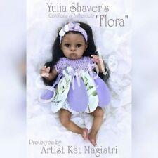 "mini vinyl kit Elf- Flora 8"" by Yulia A. Shaver"