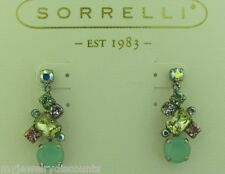 Sorrelli Cup cake Earrings   ECF6ASCUP  antique silver tone