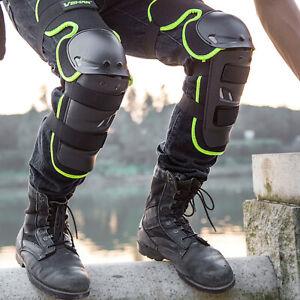 Off-Road Motorcycle Motobike Knee Leg Protection Armor Knee Guard Shin Pads Kit