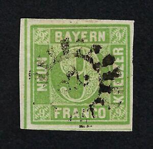 BAYERN 1850 9Kr SAGE GREEN