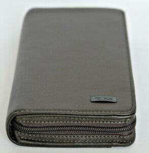 Tumi Horizon SLG Brown Leather Zip-Around Travel Wallet #017577CHO - NWOT