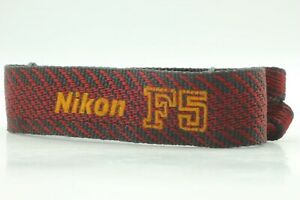 【NEAR MINT】Genuine Nikon F5 Neck Strap For Nikon 35mm SLR from Japan