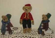 """LOT OF 3 GANZ COTTAGE COLLECTIBLE STUFFED MINIATURES 3"""" to 3 1/3"""" TALL"""