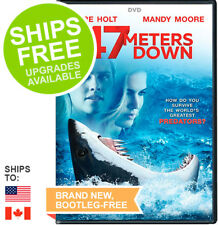 47 Meters Down (DVD, 2017) NEW, Mandy Moore, Claire Holt, Matthew Modine
