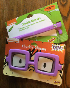 New Rugrats Dress Up Costume Glasses Chuckie Chucky Figure From Movie