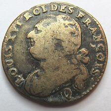 Constitution - 12 deniers - Louis XVI  - 1792 Q - Perpignan -