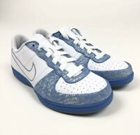 Nike Legend S/S Womens Metallic Blue Silver Shoes Size 8.5 Retro 317556-101