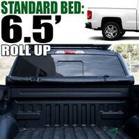 Topline For 2014-2018 Silverado/Sierra 6.5' Bed Lock Roll Up Vinyl Tonneau Cover