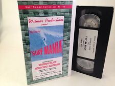 Vtg Surfing 'Surf Mania' 1960 Walt Phillips Video VHS Movie - Super RARE! WALMAR