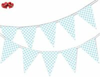 Lovely Mermaid Shell Pattern Bunting Banner 15 flags by PARTY DECOR