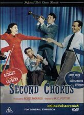 SECOND CHORUS (Fred ASTAIRE Paulette GODDARD Artie SHAW) Classic Musical DVD