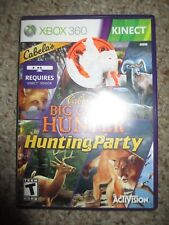 Cabela's Big Game Hunter: Hunting Party (Microsoft Xbox 360, 2011) Complete