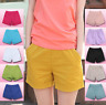 Women Summer Casual Beach Shorts Plus Size Ladies Sports Shorts Cotton Hot Pants