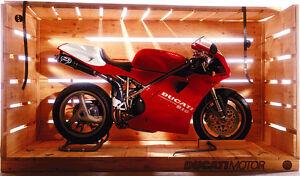 "Ducati Diavel And Girl Bikes Auto Car Art Silk Wall Poster 24x36/"""