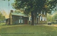 VALLEY FORGE PA - General Washington's Headquarters Rotograph Postcard