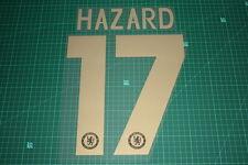 Chelsea 12/13 #17 HAZARD Europa League HomeKit Nameset Printing