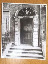 VINTAGE Photograph DUBLIN Derelict Georgian House Street Scene 1960s IRELAND