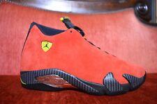 MISMATCH Nike Air Jordan 14 Ferrari MISMATCH Size 9 and 9.5 OG ALL XIV Red Black
