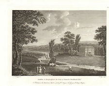 the seats of nobility & gentry 1787 -1815 engraving -  armston . herefordshire