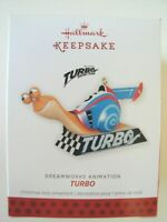 HALLMARK KEEPSAKE CHRISTMAS ORNAMENT - 2013 - Turbo