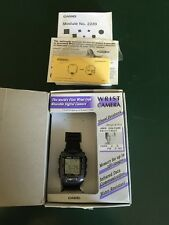 Vintage Casio Wrist Camera WQV-1 2220 with Box