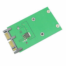 "NEW 3.3v 18+8 mSATA SSD to 1.8"" Micro SATA 7+9 Adapters PCBA for SSD Hard Disk"