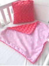"12"" Handmade Cushion Cover Fluffy Pink"