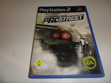 PLAYSTATION 2 PS 2 Need for Speed-PRO STREET