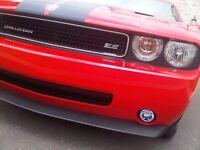 Xenon Halogen Fog Lamps Driving Lights Pair for 2015-2018 Dodge Challenger Fr