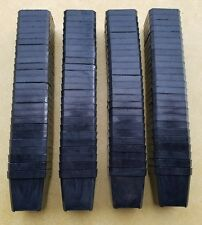 """Lot of 100 2"""" x 2"""" Black Plastic Made in USA Greenhouse Planting Seedling Pots"""