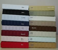 1000 COUNT FITTED SHEET EXTRA DEEP POCKET EGYPTIAN COTTON STRIPE