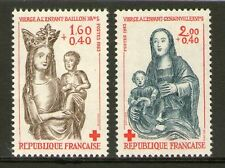 TIMBRE 2295-2296 NEUF XX LUXE - CROIX-ROUGE - VIERGE A L'ENFANT