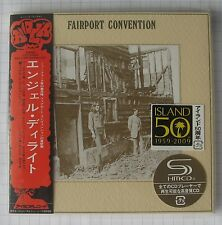FAIRPORT CONVENTION - Angel Delight  JAPAN SHM MINI LP CD NEU RAR UICY-93994