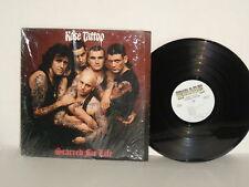 ROSE TATTOO Scarred For Life LP Sydney Girls Dead Set Revenge Branded Texas