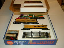 AMERICAN FLYER BOX INSERTS ONLY NO TRAINS FOR FRONTIERSMAN SET 21088