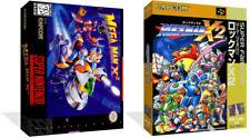 Megaman X2 Juego de reemplazo de SNES Estuche caja + portada obras de arte (sin Juego)