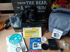 Nikon D5100 18-55 VR Kit - Lightly Used PLUS Eddie Bauer Bag