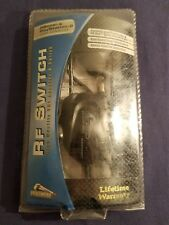 RFU ADAPTOR FOR PS2 & PSONE PELICAN ACCESSORIES NEW FACTORY SEALED