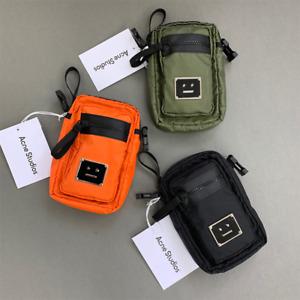 Acne Studio Unisex Sport Bag Smiley Face Phone Bag Camera Bag Small Shoulder Bag
