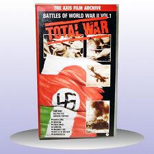 Total War Battles of World War 2 Vol 1 Stukas Wolfpack T-34 Tanks VHS PAL - NEW