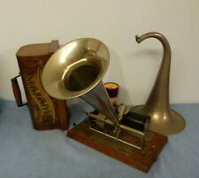 Phonograph Columbia Graphophone Eagle  voll funktionsfähig