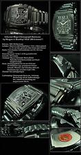 Hurricane Harder Chronograph Morgan & Headley Stainless Steel Black Ion-Plated