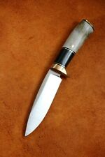 Classic Custom Drop Point Hunter Bohler M398 Knife