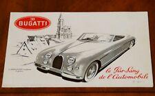 Bugatti 101 brochure Prospekt, 1951-2 (French text)