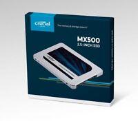 Crucial MX500 1TB SATA3 6Gb/s CT1000MX500SSD1 2.5-inch Solid State Drive SSD