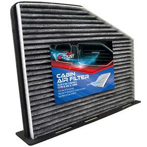 For Volkswagen VW GTI Golf Eos CC Beetle Audi A3 Carbon Fiber Cabin Air Filter