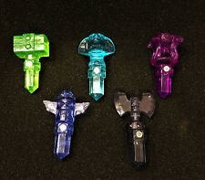 5 Skylanders Trap Team Traptanium Crystals. VGC.