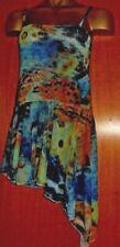 Animal print /FLOATY SKIRT/MESH/FREESTYLE/SLOW/COSTUME/7/9 year