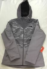 The North Face Women Aryi Triclimate 3-In-One Fleece Jacket Grey Purple Size S