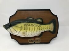 Vintage Gemmy Big Mouth Billy Bass Singing Animated Mounted Fish 1999